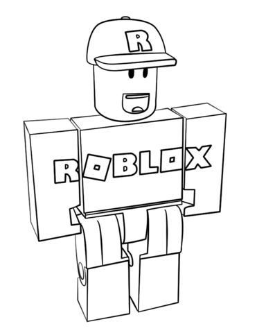 Roblox Coloring Pages Download PDF for Kids