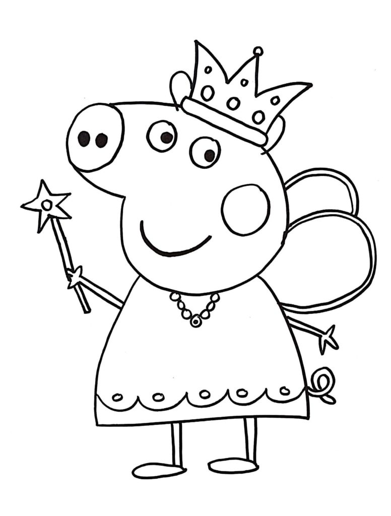 peppa pig coloring pages download