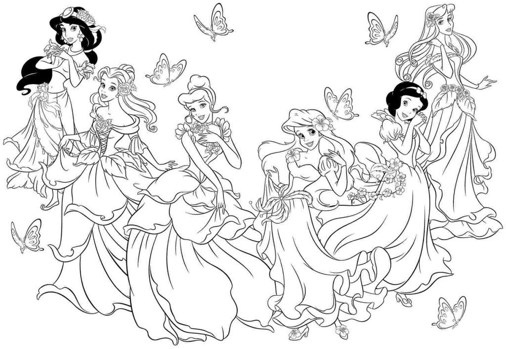 disney little princes coloring pages