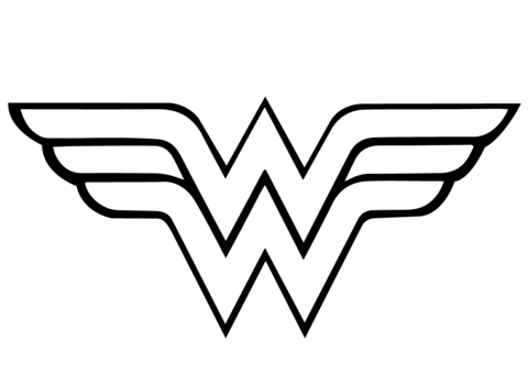 Wonder Woman Coloring Pages pdf